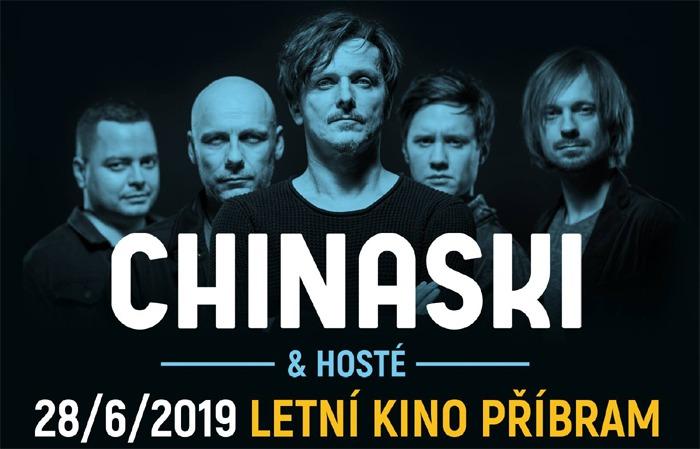 28.06.2019 - Chinaski Open Air - Koncert / Příbram