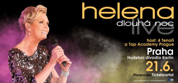 Helena Dlouhá noc live - Koncert / Praha