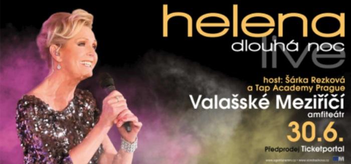 30.06.2019 - Helena Dlouhá noc live - Koncert / Valašské Meziříčí