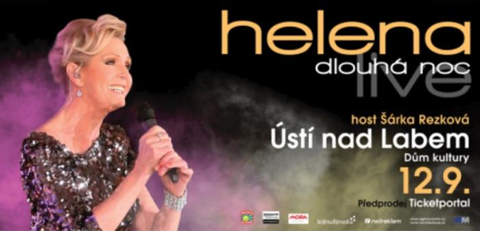 12.09.2019 - Helena Dlouhá noc live - Koncert / Ústí nad Labem