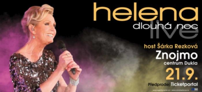21.09.2019 - Helena Dlouhá noc live - Koncert / Znojmo