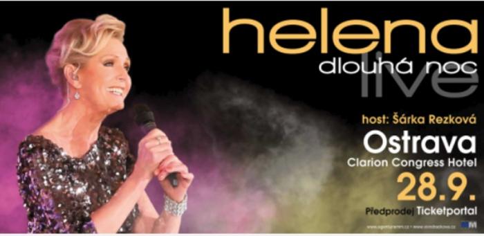 28.09.2019 - Helena Dlouhá noc live - Koncert / Ostrava