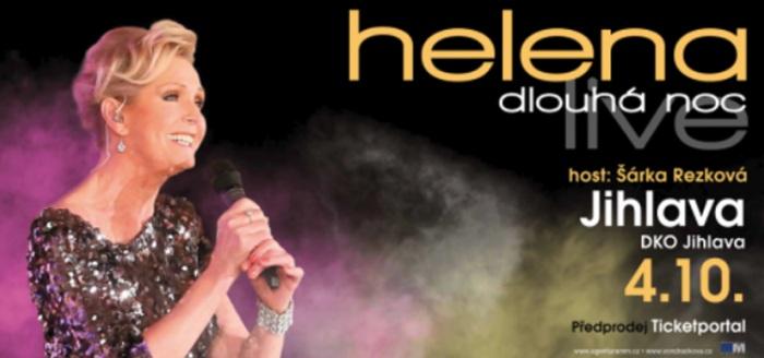 04.10.2019 - Helena Dlouhá noc live - Koncert / Jihlava