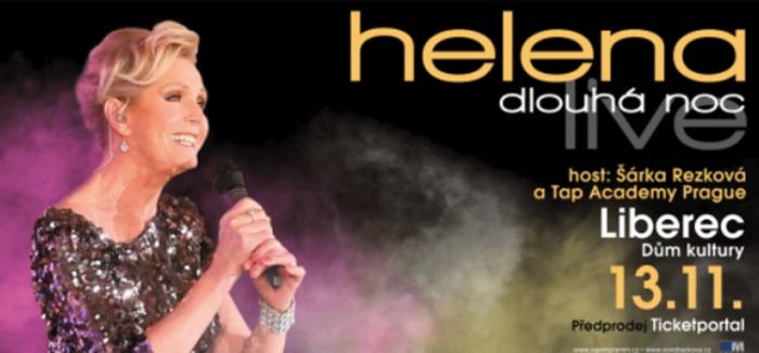 13.11.2019 - Helena Dlouhá noc live - Koncert / Liberec