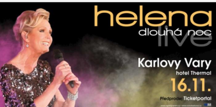 16.11.2019 - Helena Dlouhá noc live - Koncert / Karlovy Vary
