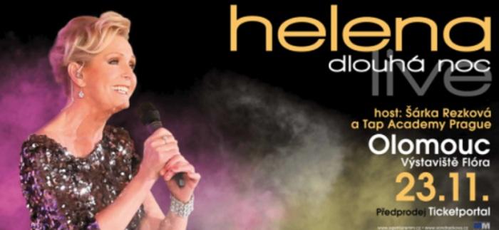 23.11.2019 - Helena Dlouhá noc live - Koncert / Olomouc
