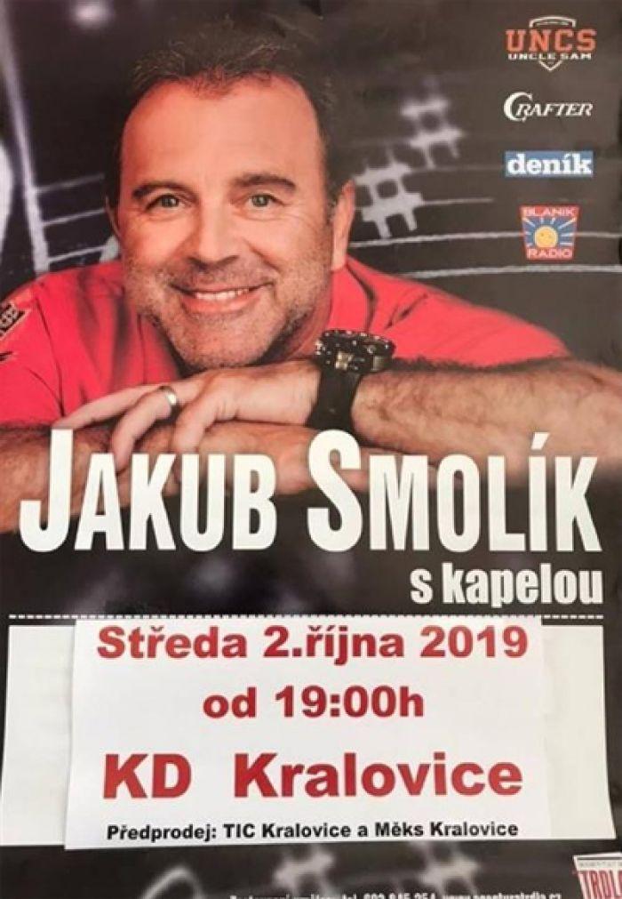Jakub Smolík s kapelou - Kralovice