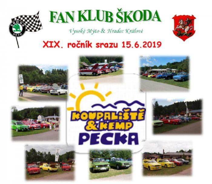 15.06.2019 - Sraz Fan Club Škoda - Pecka