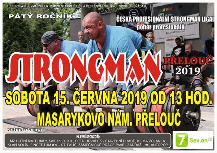 15.06.2019 - 5. ročník STRONGMAN 2019 - Přelouč