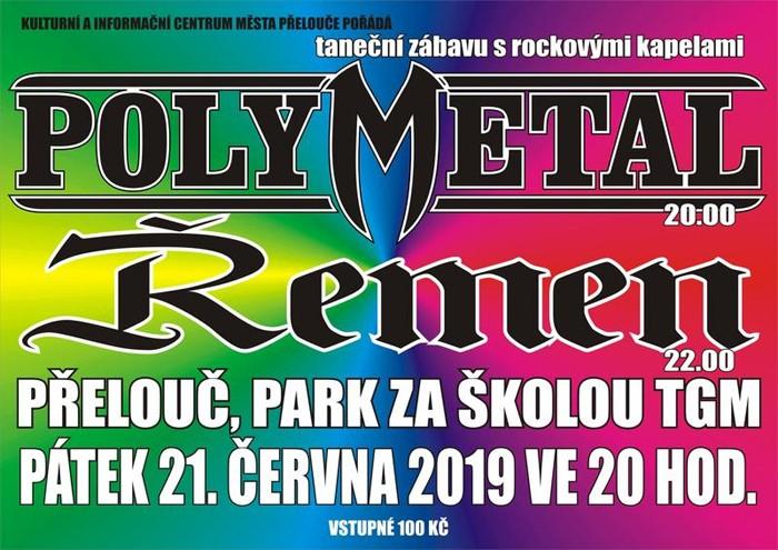 21.06.2019 - POLYMETAL + ŘEMEN - Koncert / Přelouč