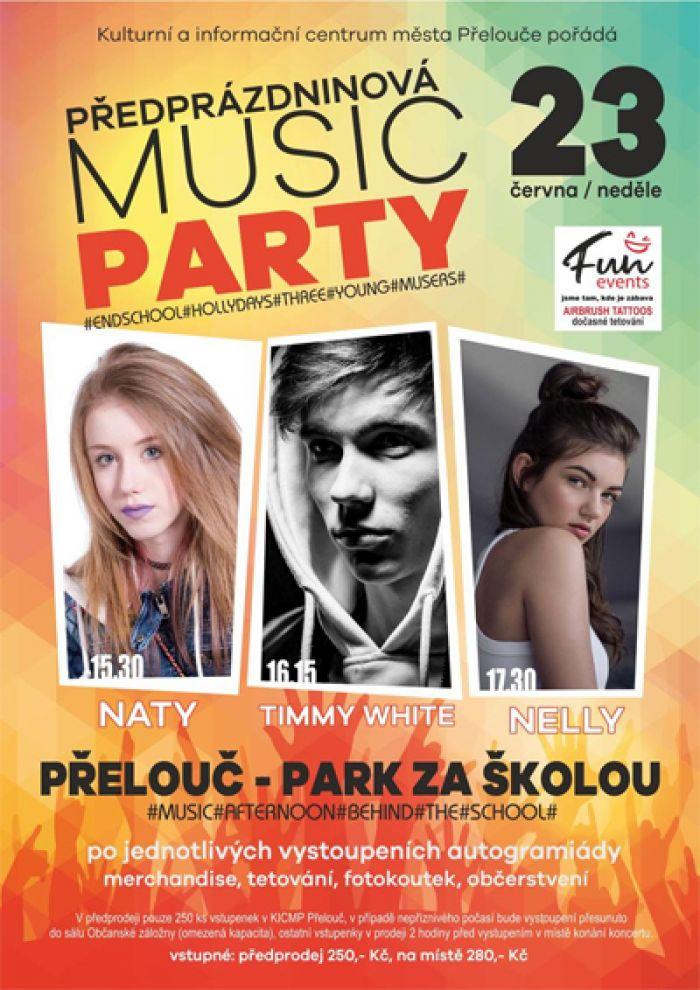 23.06.2019 - PŘEDPRÁZDNINOVÁ MUSIC PARTY / Přelouč