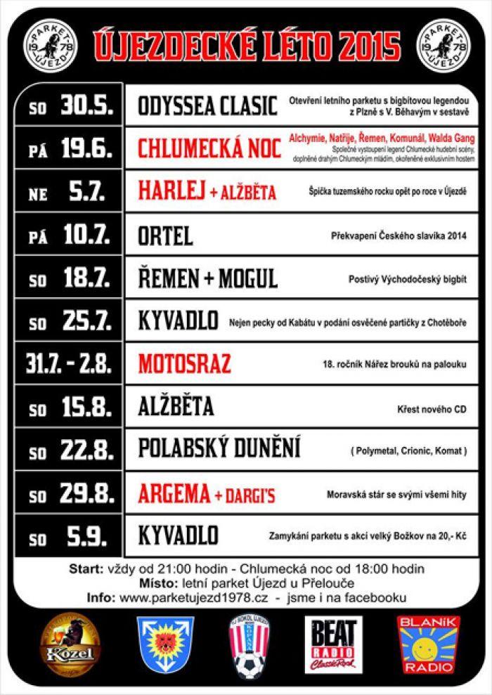 ORTEL - Koncert / Újezd u Přelouče