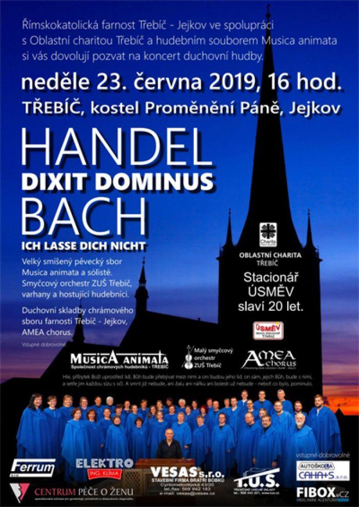 23.06.2019 - Handel, Bach - Koncert / Třebíč