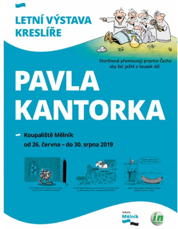 Výstava Pavla Kantorka - Mělník