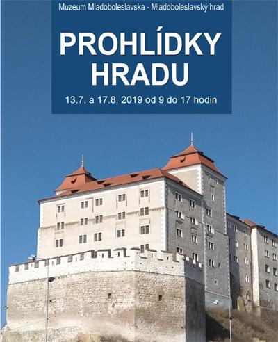 13.07.2019 - Komentované prohlídky hradu - Mladá Boleslav