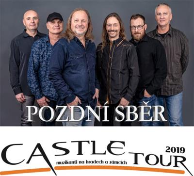 30.08.2019 - Pozdní sběr - Castle tour 2019 / Sázava