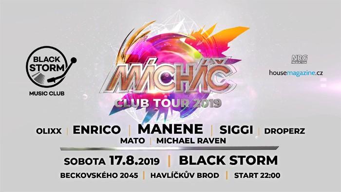 17.08.2019 - MANENE & Mácháč Club Tour - Havlíčkův Brod