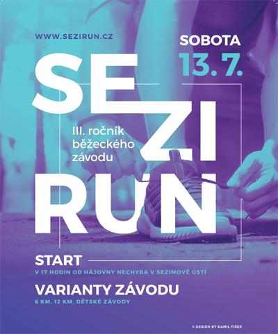 13.07.2019 - SeziRun 2019 - Sezimovo Ústí
