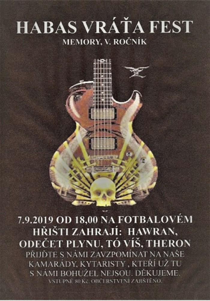 07.09.2019 - Habas Vráťa FEST - Veleň