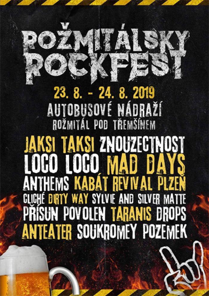 Rožmitálský rockfest 2019