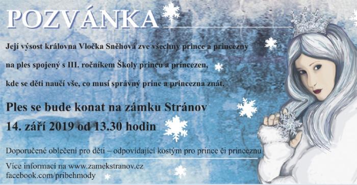 14.09.2019 - Ples Sněhové královny - Stránov