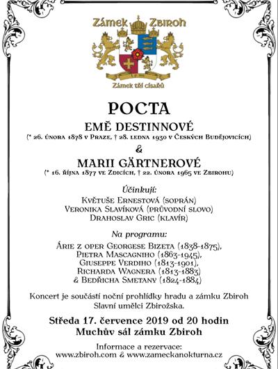 17.07.2019 - Po stopách Emy Destinnové - Zbiroh
