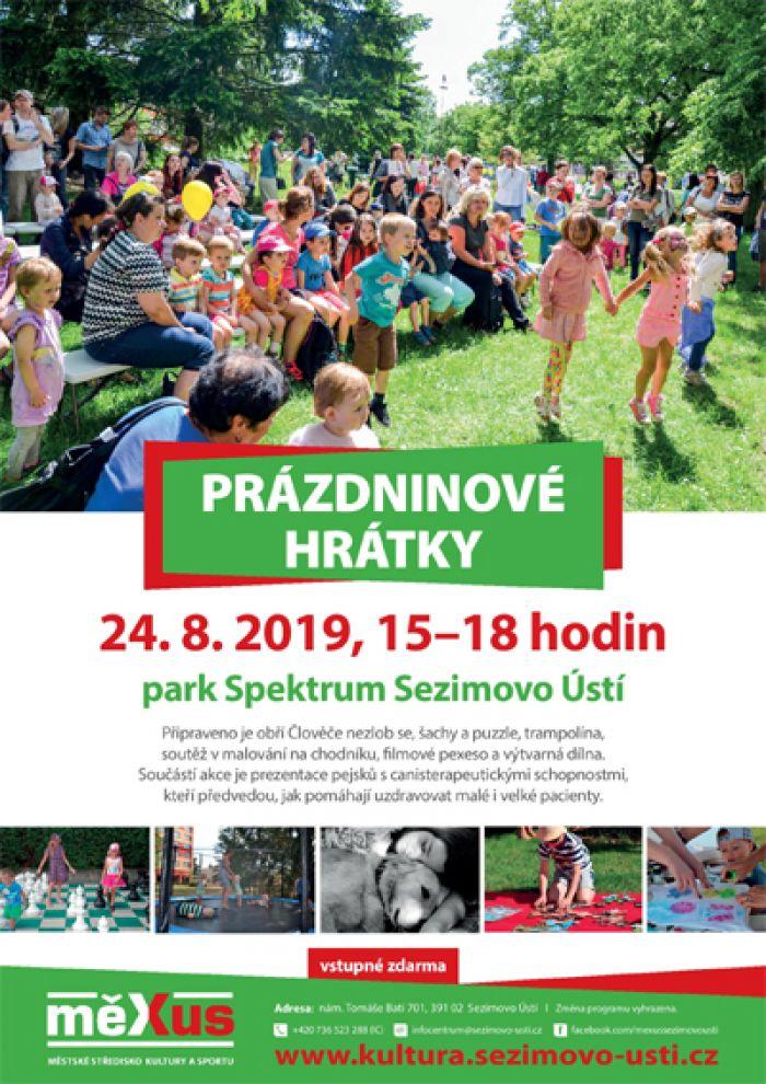 24.08.2019 - Prázdninové hrátky - Sezimovo Ústí