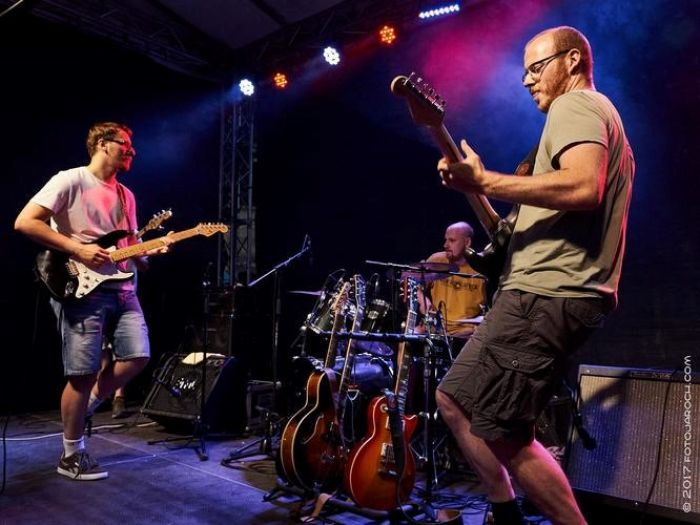 26.07.2019 - Music on the Square 2019: The Blues Rousers / Slaný