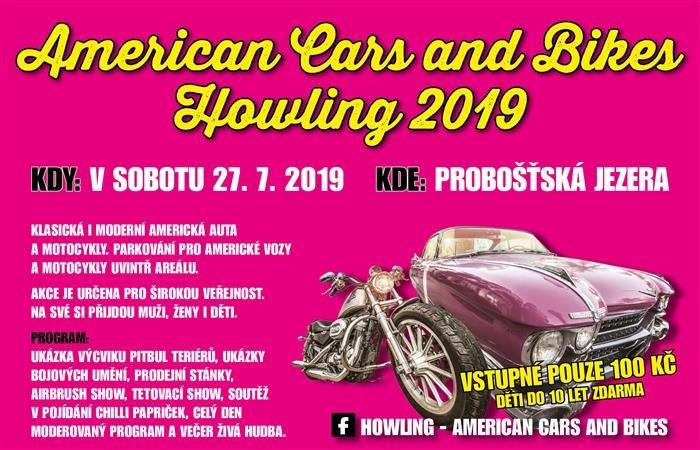 American Cars and Bikes Howling 2019 / Probošťská jezera