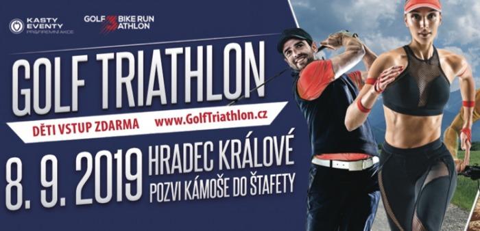 08.09.2019 - Golf Triathlon - Hradec Králové