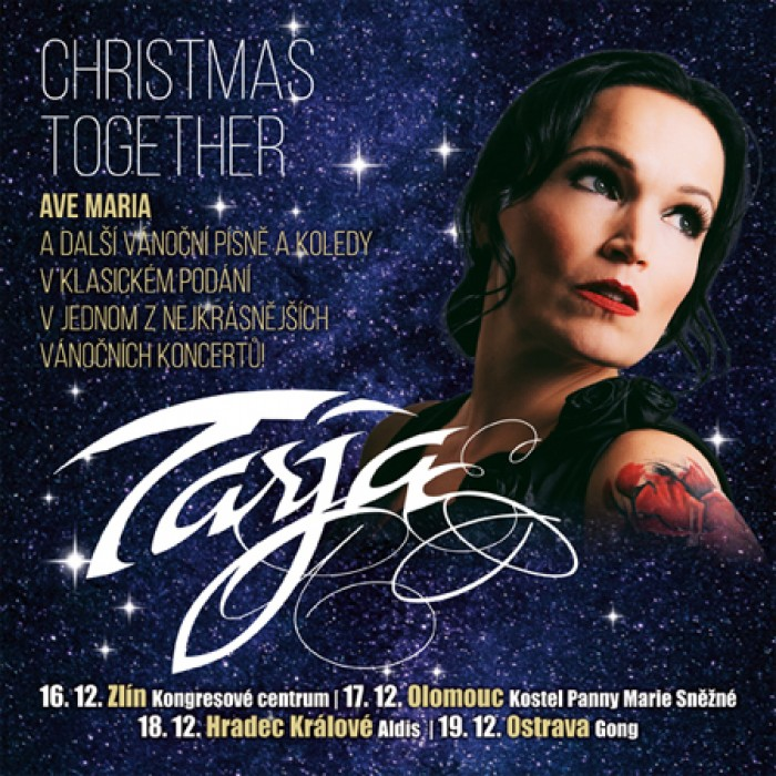 Tarja Turunen - Christmas together / Zlín