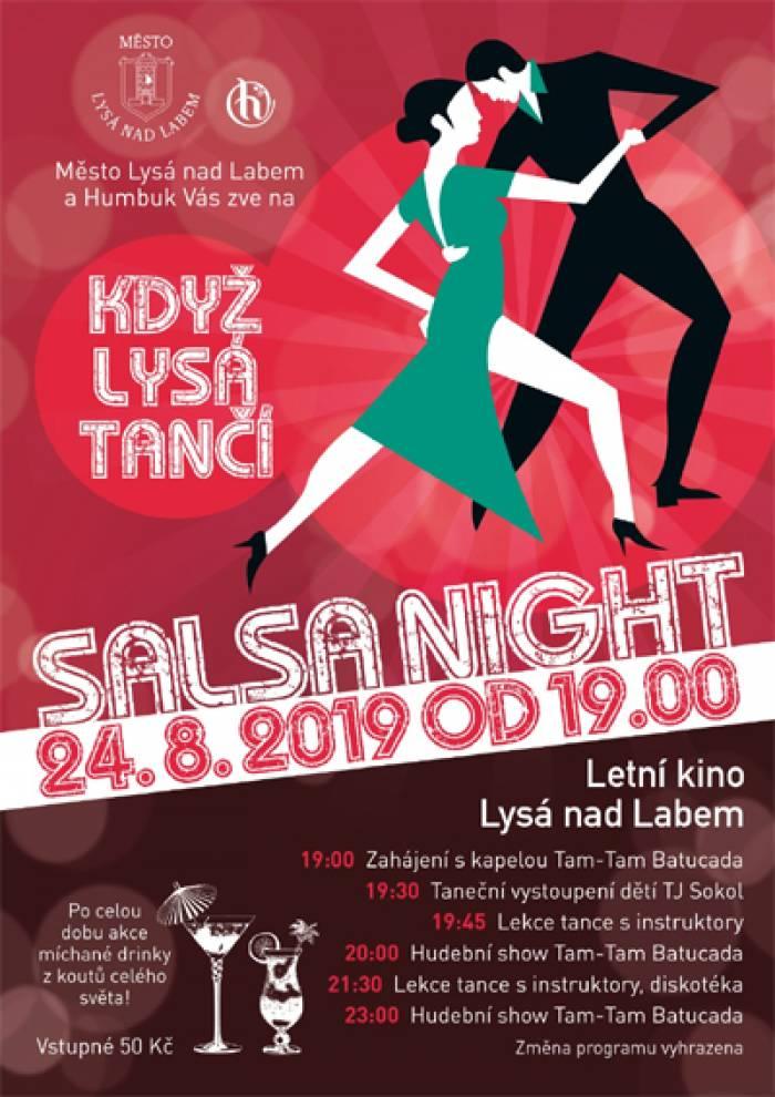 Salsa night: Když Lysá tančí - Lysá nad Labem