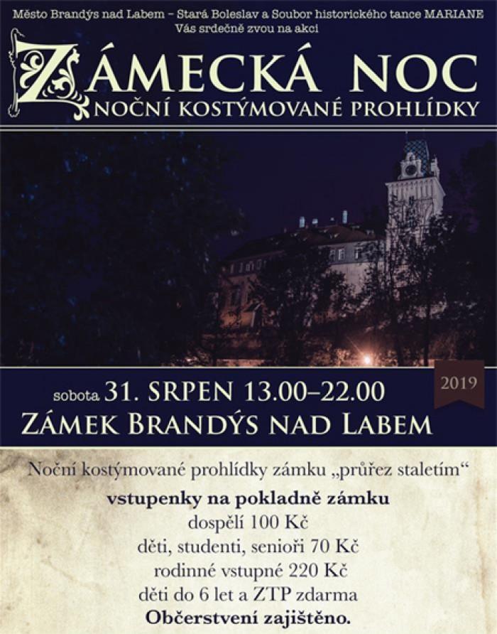 31.08.2019 - Zámecká noc / Brandýs nad Labem