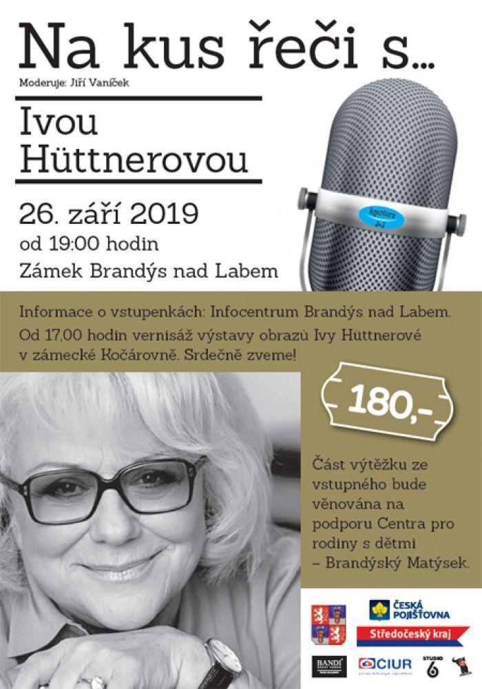 26.09.2019 - Na kus řeči s...Ivou Hüttnerovou - Brandýs nad Labem