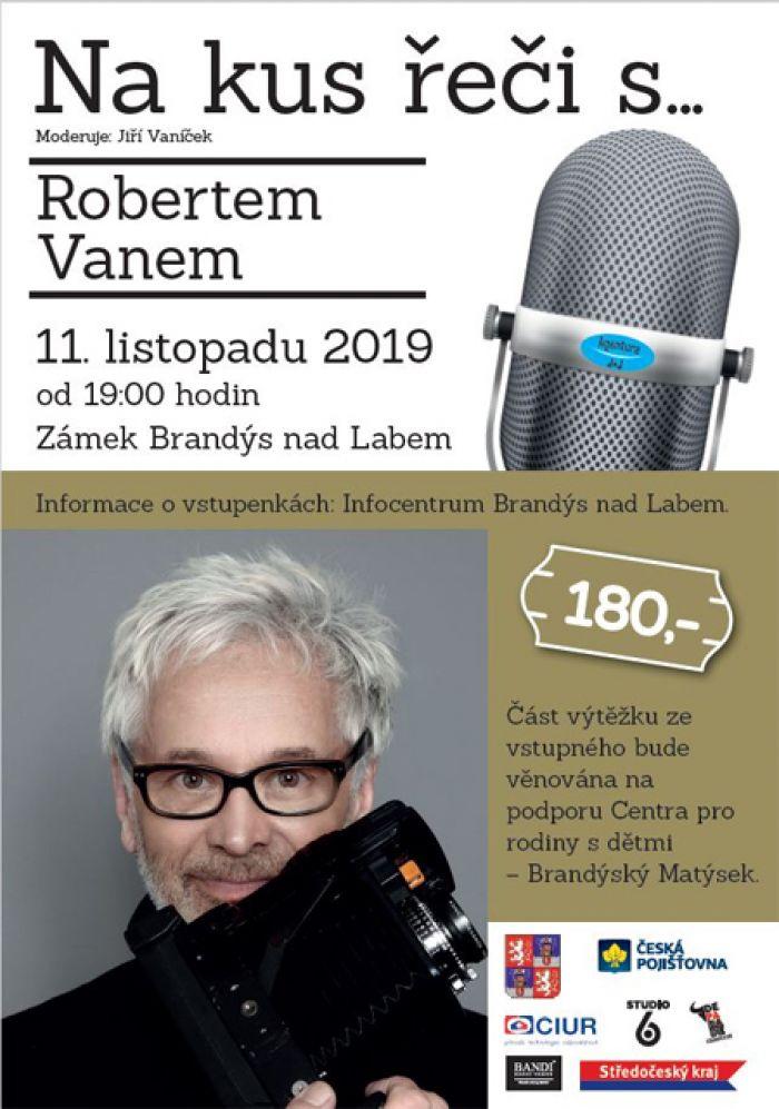 11.11.2019 - Na kus řeči s... Robertem Vano - Brandýs nad Labem