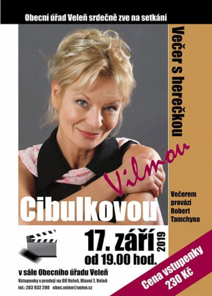 17.09.2019 - Vilma Cibulková ve Veleni
