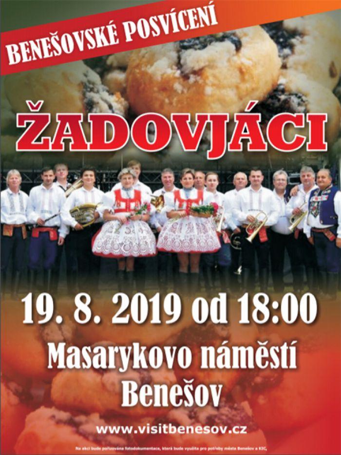 19.08.2019 - Žadovjáci - Koncert / Benešov