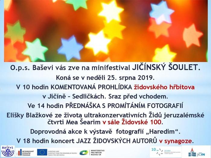 25.08.2019 - Jičínský šoulet 2019