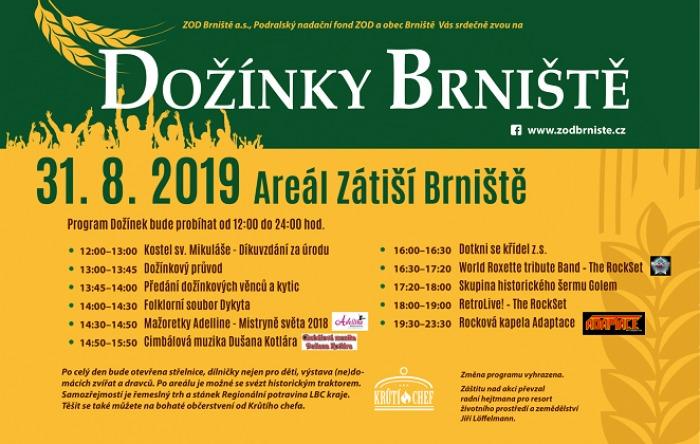 31.08.2019 - Dožínky 2019 - Brniště
