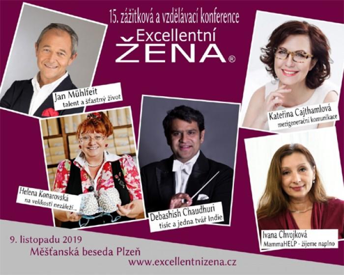 09.11.2019 - EXCELLENTNÍ ŽENA - 15. vzdělávací a zážitková konference / Plzeň