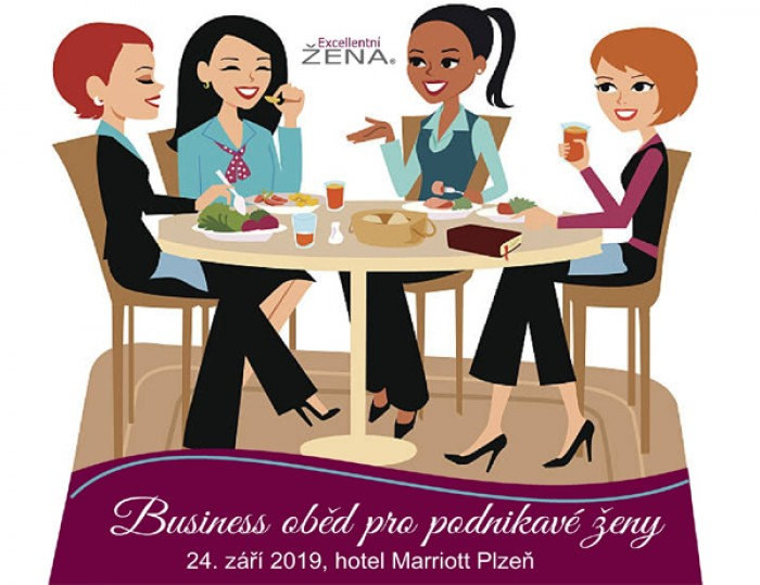 Business oběd pro podnikavé ženy - Plzeň