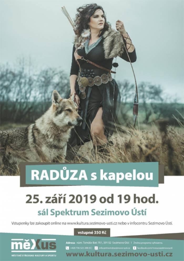 25.09.2019 - Radůza - Koncert / Sezimovo Ústí