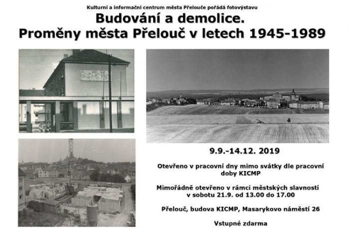 Budování a demolice - Fotovýstava / Přelouč