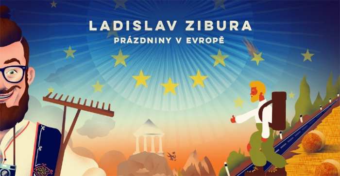 Ladislav Zibura: PRÁZDNINY V EVROPĚ / Kladno