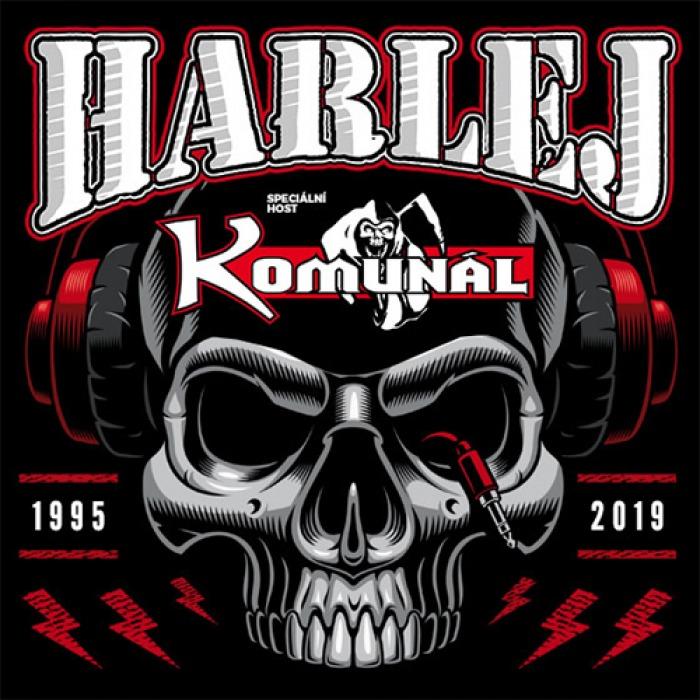 12.10.2019 - Harlej + Komunál - Podzimní turné / Turnov