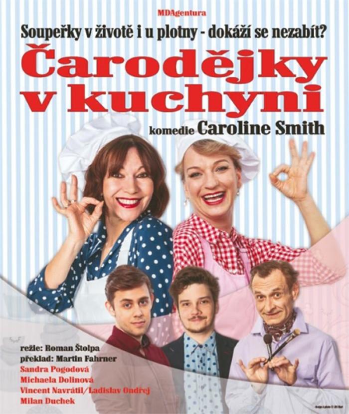 25.09.2019 - ČARODĚJKY V KUCHYNI - Divadlo / Dobříš