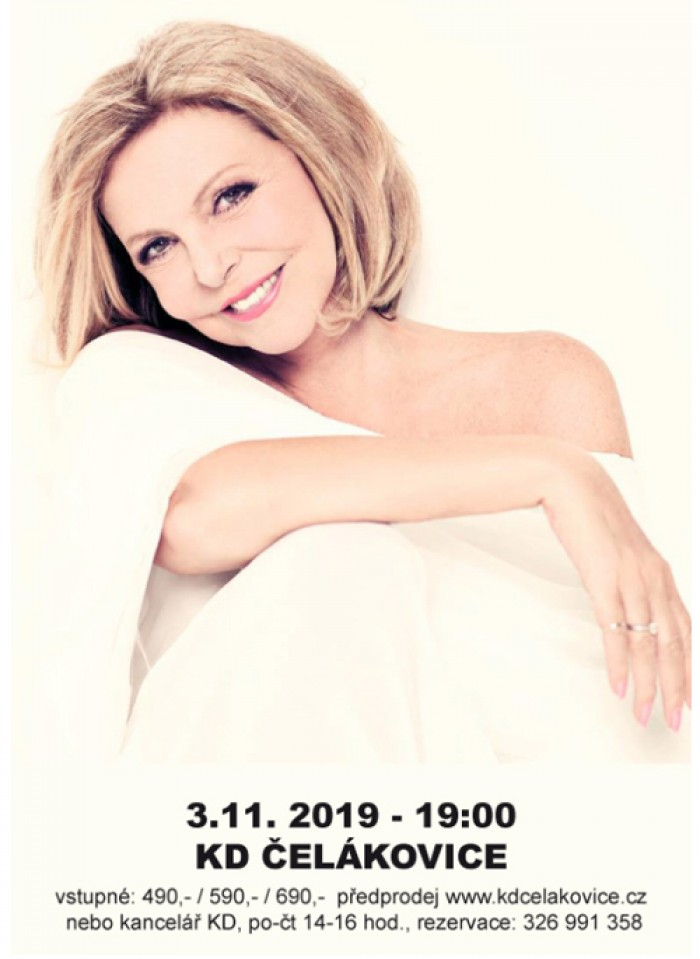 03.11.2019 - Hana Zagorová a Petr Rezek - Koncert / Čelákovice