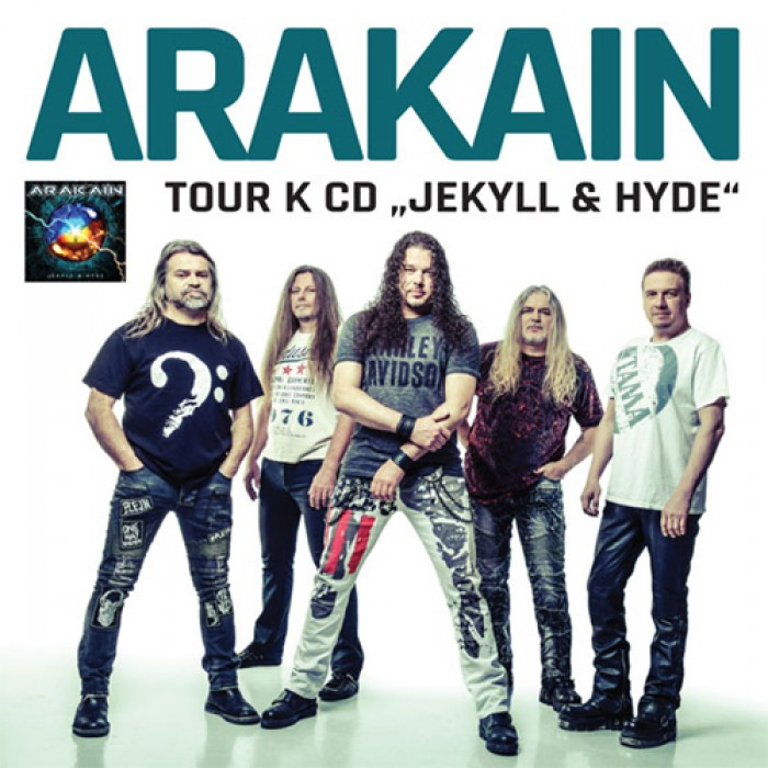 Arakain - Křest nového CD / Zlín