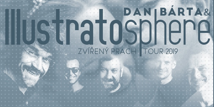 11.10.2019 - Dan Bárta a Illustratosphere: Zvířený prach Tour / Aš