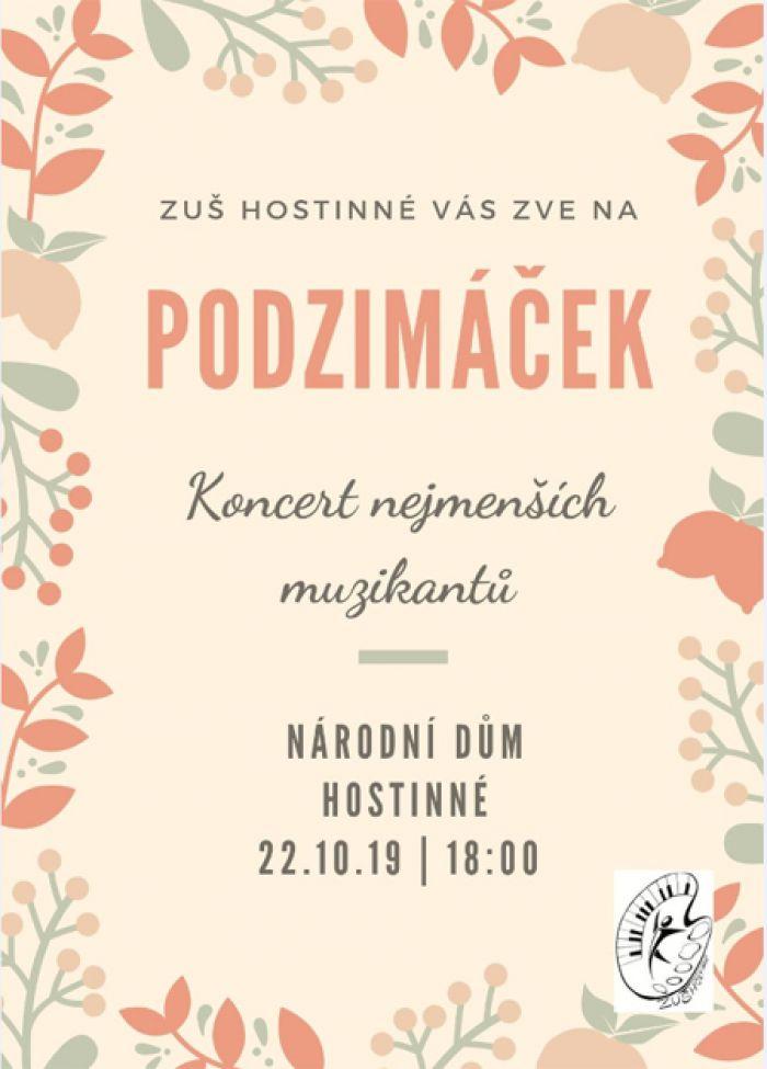 22.10.2019 - Podzimáček - Hostinné